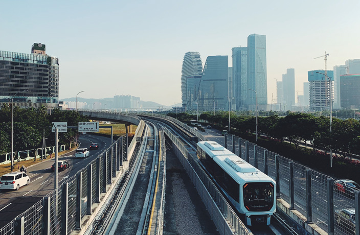 You Can Now Explore Macao via Light Rail Transit