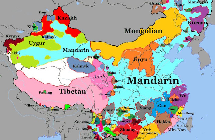 INFOGRAPHIC: The Languages Spoken in China